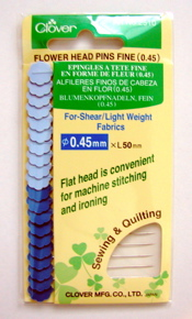 Flower Head Pins Fine - l pkg.