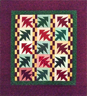 Checkerboard Tree Quilt Pattern- NEW!!!