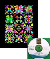 Scrap Buster Block of the Month Quilt CD- NEW!!! ON SALE!