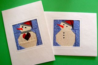 Snowman Patterns for Keepsake Cards or Ornaments-NEW!!