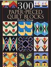 300 Paper-Pieced Quilt Block- SAVE $10 NOW!