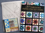 50 Fabulous Paper-Pieced Stars book and Companion Foundation Factory CD-SAVE $5
