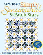 Simply Sensational 9-Patch Stars-OUT OF PRINT !