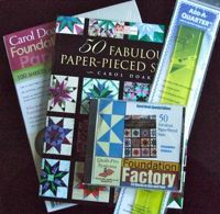 In Honor of the Craftsy Paper-Pieced Stars Course- Save $5!!!!