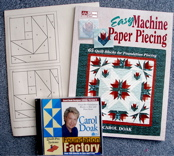 Easy Machine Paper Piecing and the Carol Doak Designer Edition Foundation Factory