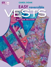 Easy Reversible Vests-Revised Edition-BLOW-OUT SALE WHILE SUPPLIES LAST