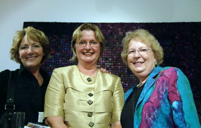 Beth Hayes, Anne Scott and me chatting away