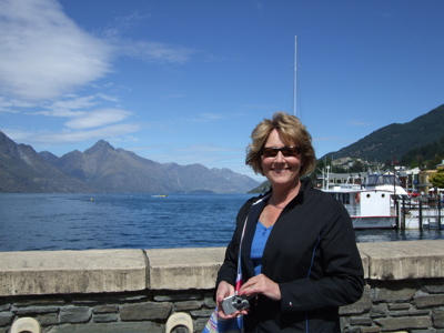 Beth in Queenstown Harbor