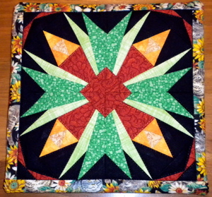 Anita D.'s block was turned into a Trivet