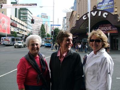 Exploring downtown Auckland