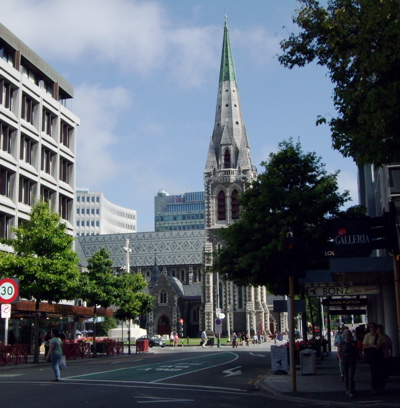Cathedral in Christchurch