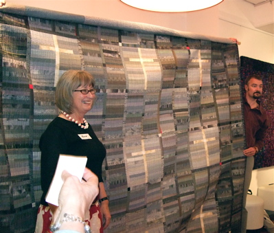 Award winning quilter and quilt