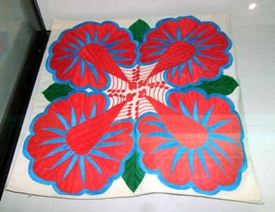 Polynesian quilt