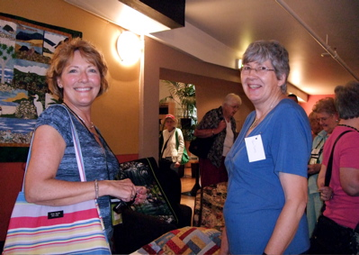 Our Christchurch Quilters Reception