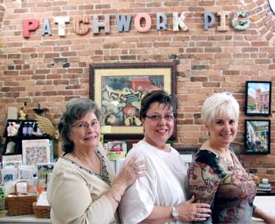 Patchwork Pig Quilt Shop stop