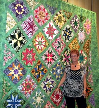 Debi Moffett, owner of Somewhere Sewing