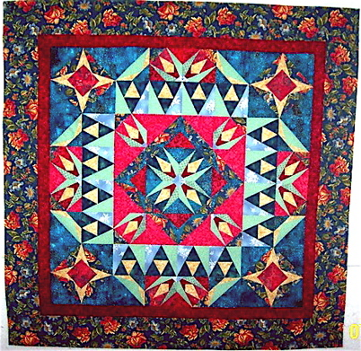 Mary H's Mystery Quilt