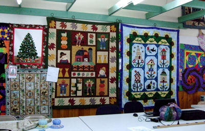 Quilts at Homestead Quilts
