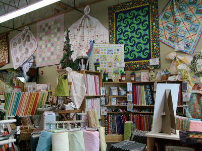 Charming areas at Sew Many Quilts