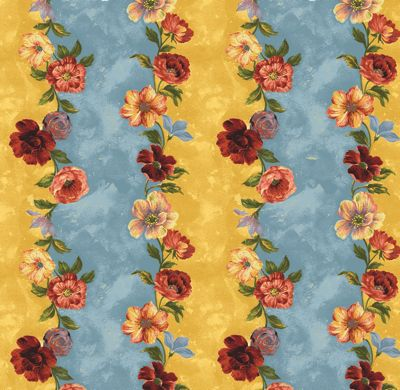 Stripe from Floral Affair fabric by Northcott fabrics.